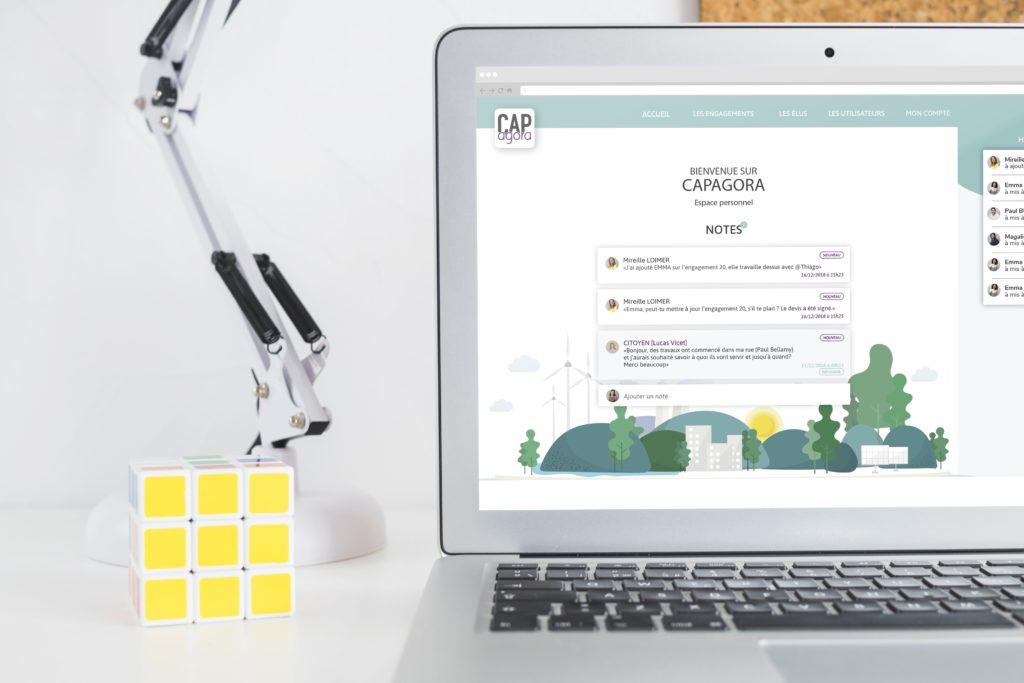 Cap'Agora, outils de gestion d'une ville